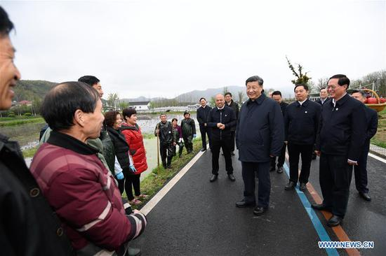 Xi stresses ecological protection in Zhejiang tour