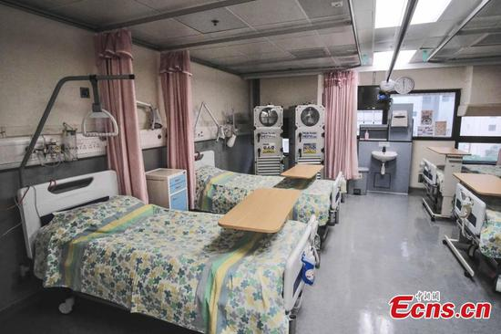 Isolation wards added to Hong Kong hospital