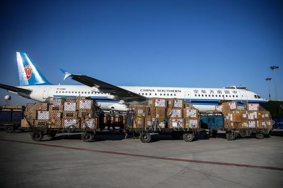 178 Chinese aid flights carried out during pandemic