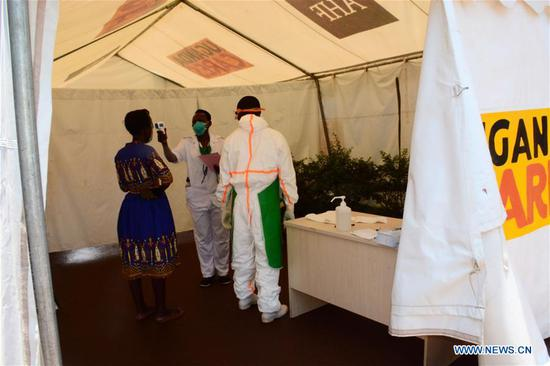 Uganda rolls out health strategy to combat COVID-19 spread