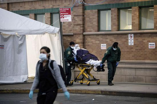 New York state anxious to get more ventilators, medical personnel facing COVID-19 apex