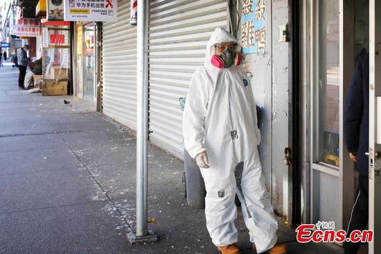 In pics: Chinatown in NYC amid coronavirus outbreak