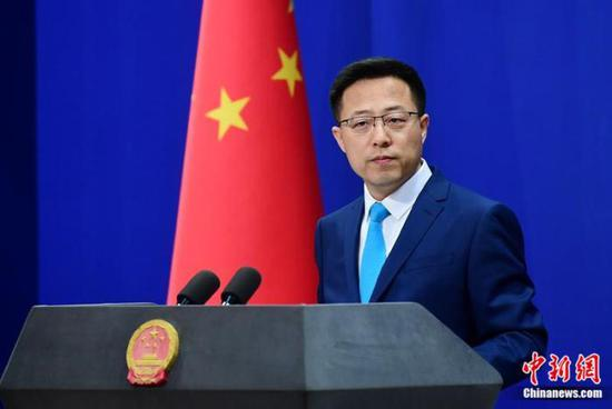 China opposes so-called new rules for U.S. contacts with Taiwan: spokesperson