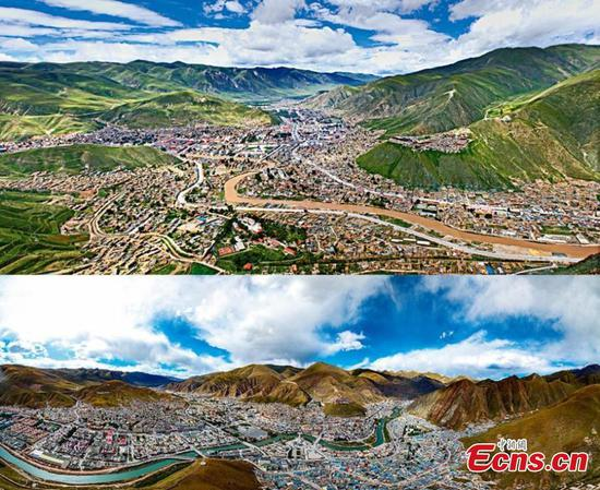 10 years after quake, Yushu stands rebuilt
