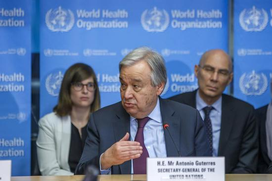 UN chief asks for protection of people on the move during pandemic