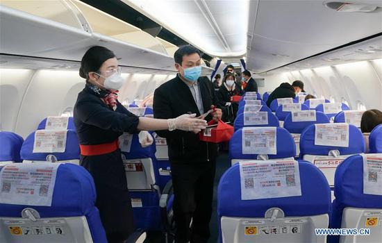 40k passengers use Wuhan airport since lockdown lifted