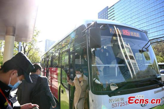 Beijing resumes inter-provincial bus operation