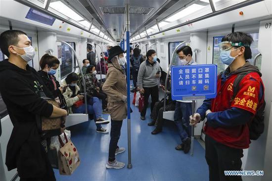 武汉恢复所有公共交通运营