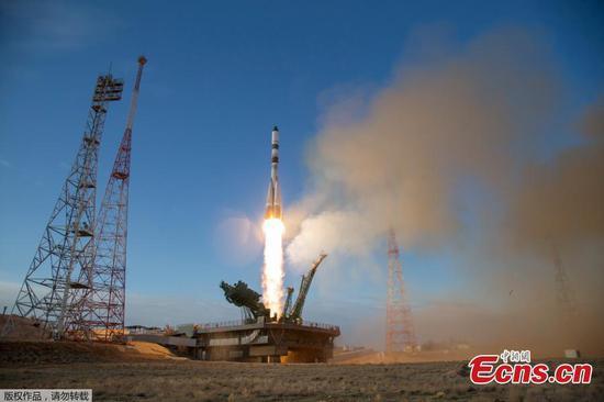 俄罗斯将货船发射到国际空间站