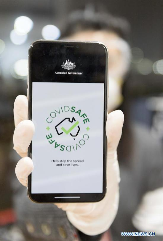 Aussie gov't launches contact tracing app to slow COVID-19 spread