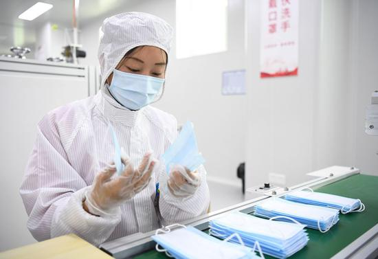 China takes multi-faceted measures to moderate mask prices, ensure quality