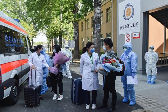 Beijing's SARS treatment hospital clears all COVID-19 cases