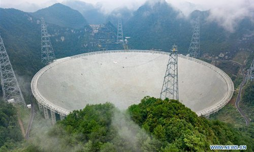 China's FAST starts search for extraterrestrial intelligence