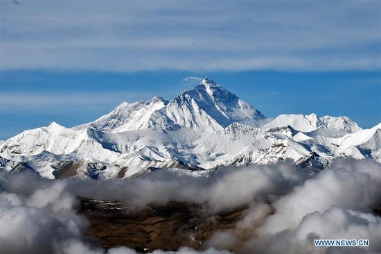 珠穆朗玛峰国家级自然保护区的风景