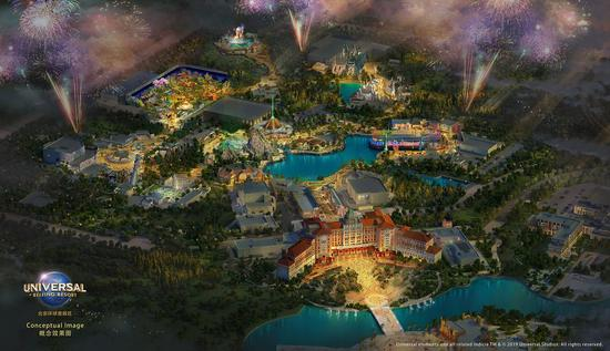 Universal Resort's river to be completed in November
