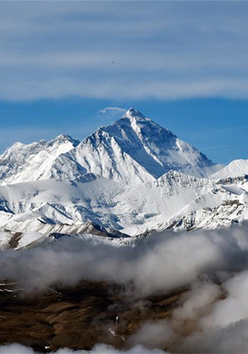 Scenery of Mount Qomolangma National Nature Reserve