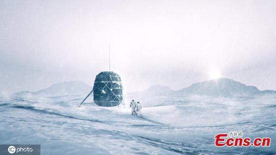 可扩展的月亮庇护所准备进行测试