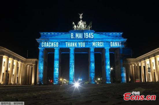 75th anniversary of end of WW2 in Europe marked by countries