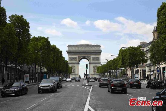 法国开始放宽行动限制