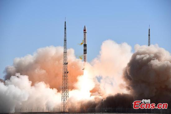 中国为物联网项目发射了两颗通信卫星
