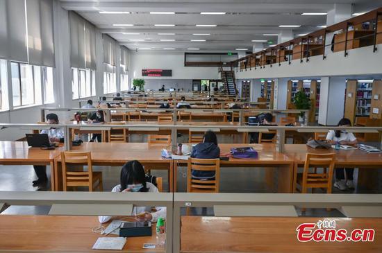 中国国家图书馆在北京重新开放
