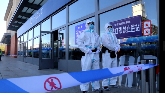 Jilin city expands lockdown after new cases