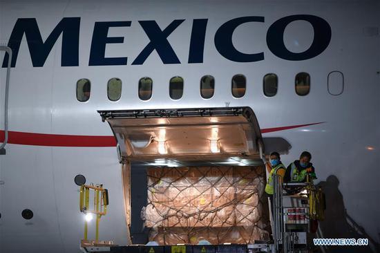 大型空中桥联手中国和墨西哥抗击COVID-19