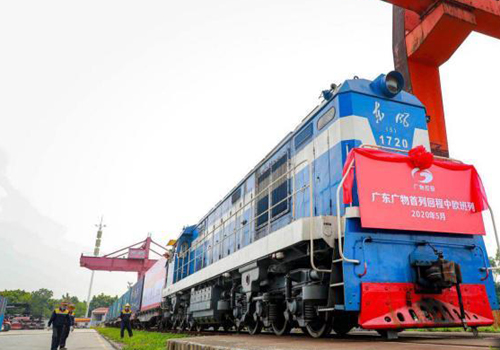 First Guangzhou-Russia freight train returns with imported goods