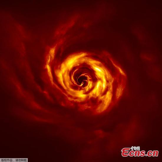 ESO望远镜看到行星诞生的迹象