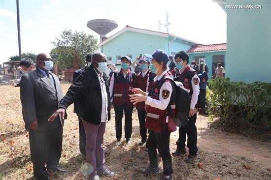 中国医学专家与津巴布韦同行就抗COVID-19进行交流