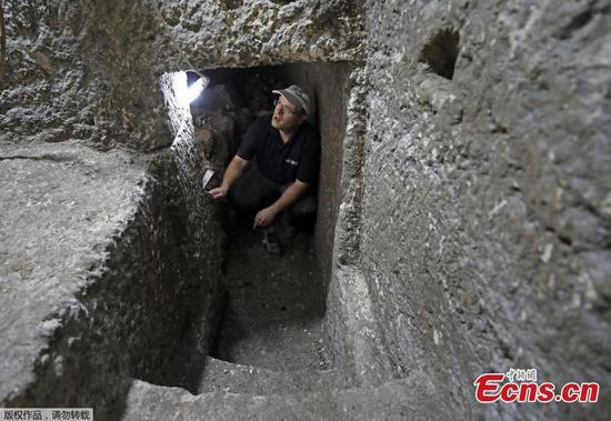 耶路撒冷西墙发现有2000年历史的房间