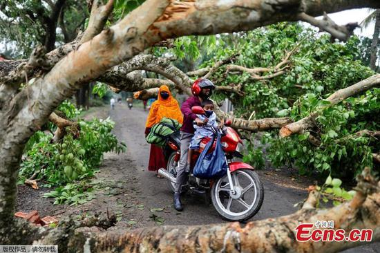 Cyclone Amphan battered Bangladesh