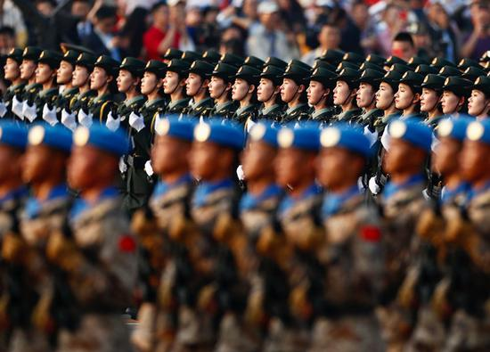 Chinese armed forces to firmly safeguard national sovereignty, security