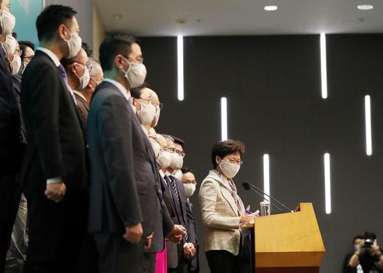 HKSAR gov't refutes remarks by foreign politicians on national security legislation