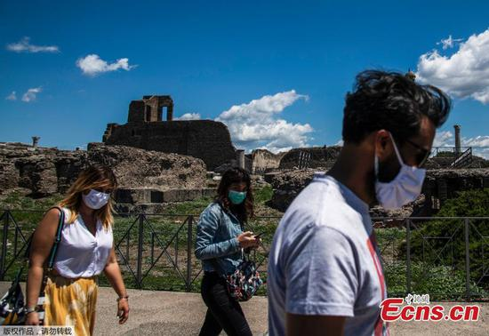 Italy's world-famous archeological site Pompeii reopened to the public
