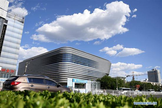 Beijing 2022 training center 'Ice Jar' completed