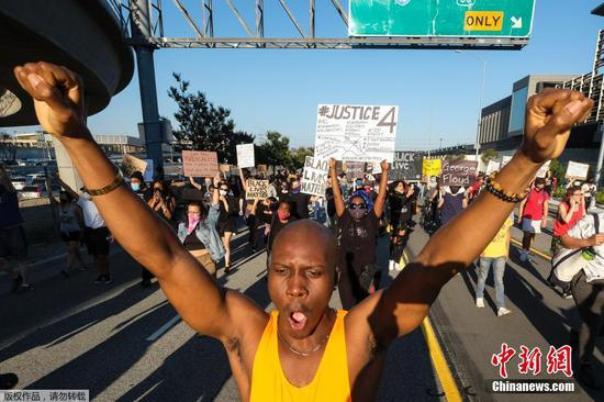 Los Angeles declares curfew after four days of protests