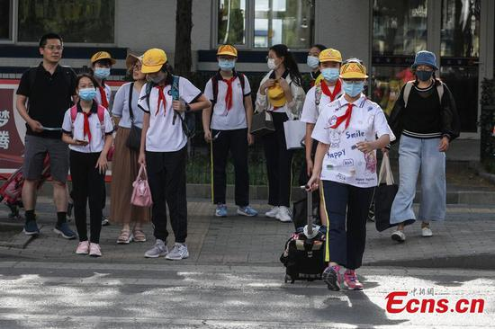 Over 400,000 students in Beijing resume classes