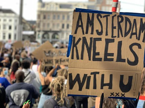Thousands attend Black Lives Matter protests in Amsterdam and Paris
