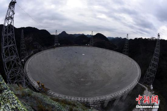 Giant Chinese telescope looking for ET