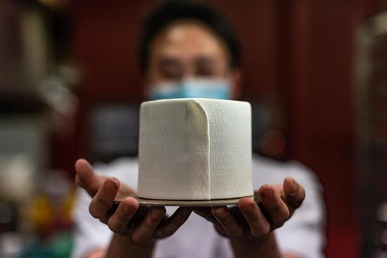 Malaysia cafe rolls out toilet-paper-shaped cakes