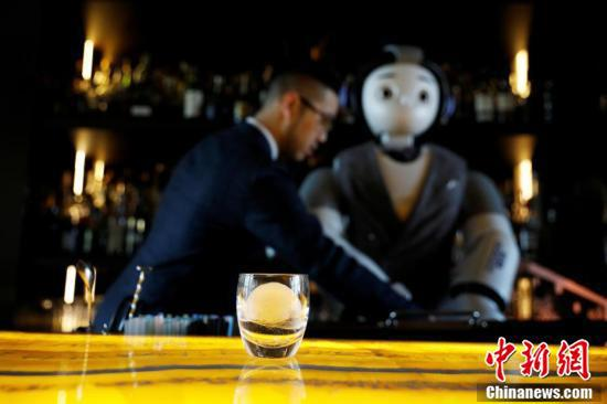 S Korean bar hires robot bartender to maintain social distancing
