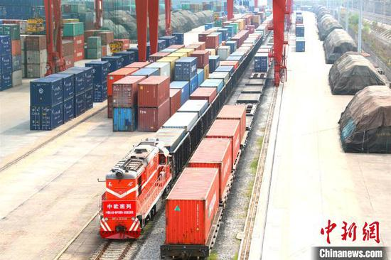 China's Shandong plans more freight trains bound for Europe, Central Asia
