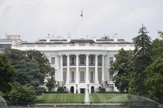 2020年5月29日拍摄的照片显示了美国华盛顿特区的白宫。(新华社/刘杰)