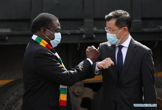 China donates second batch of anti-COVID-19 medical supplies to Zimbabwe