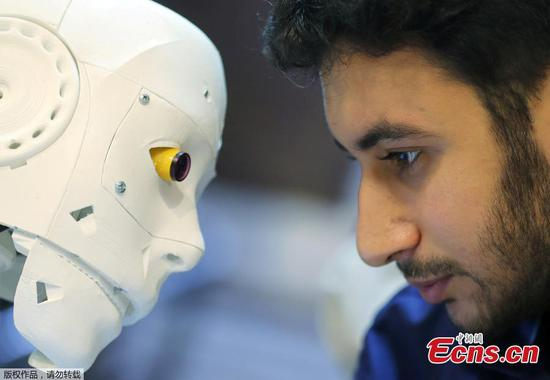 Egyptian engineer designs robot to help test COVID-19