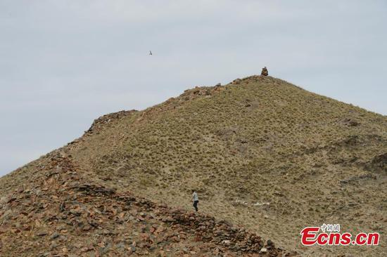 Repair work underway on ancient Great Wall section in Inner Mongo