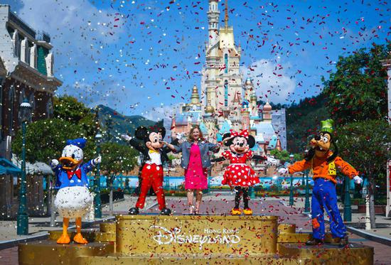 HK Disneyland reopens after five-month closure