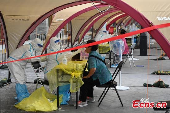 Beijing doubles daily nucleic acid testing capacity