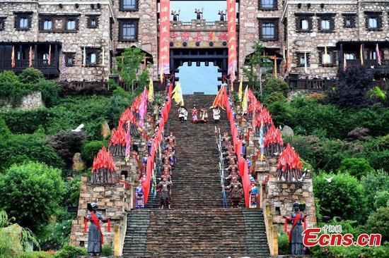 四川传统开门典礼